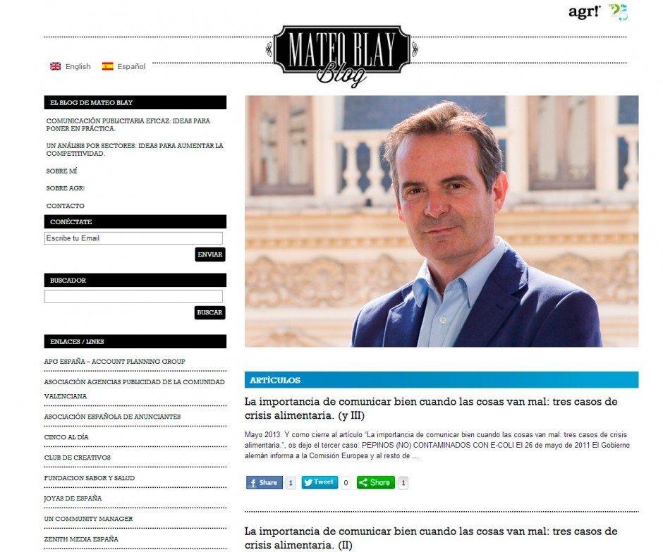 El blog de Mateo Blay