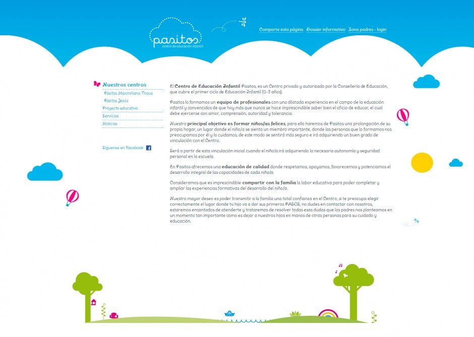 Escuela Pasitos – Centro de educacíon infantil