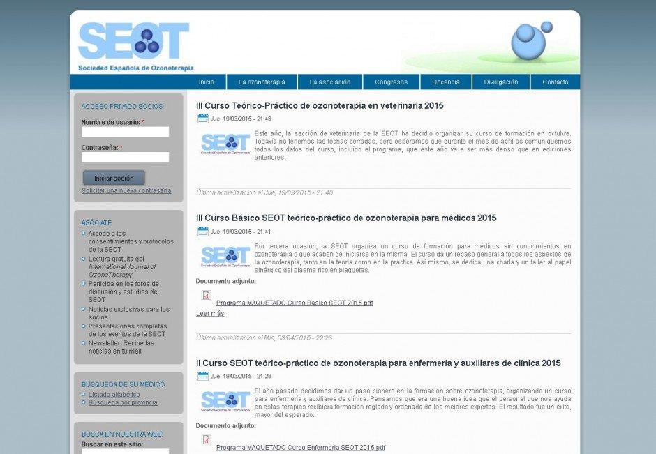 SEOT – Sociedad Española de Ozonoterapia