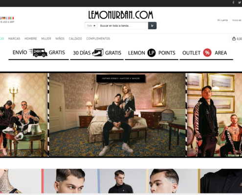 Lemon Urban e-commerce