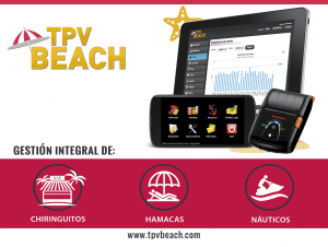 Tpv Beach gestion de playas