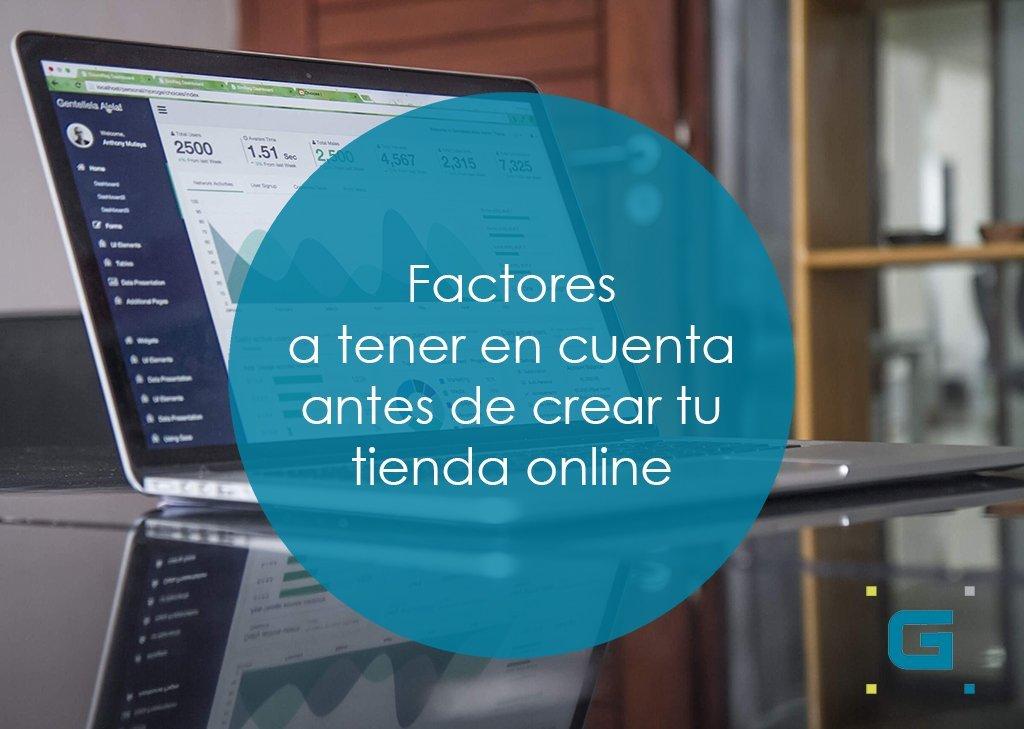 Factores para crear tu tienda online portada