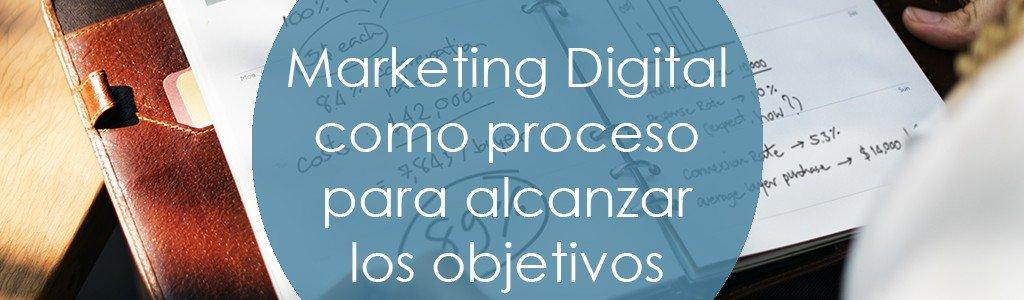Marketing Digital como proceso para alcanzar tus objetivos