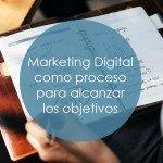 Marketing Digital como proceso para alcanzar tus objetivos portada