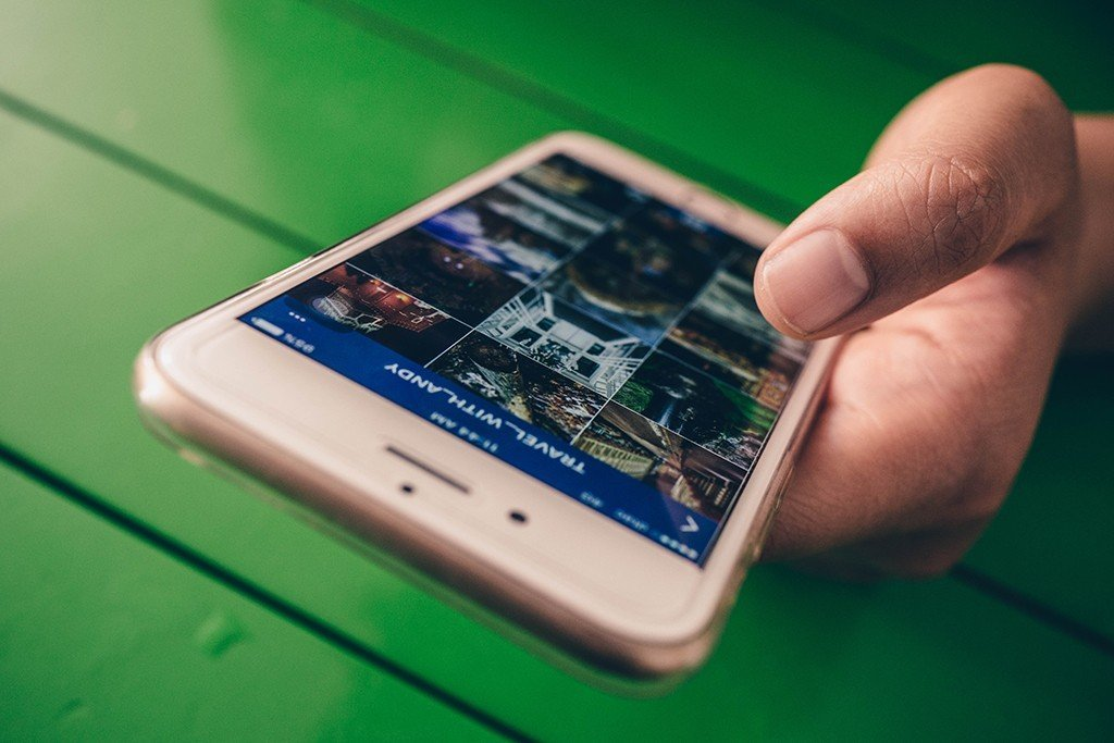 Marketing Digital como proceso para alcanzar tus objetivos smartphone