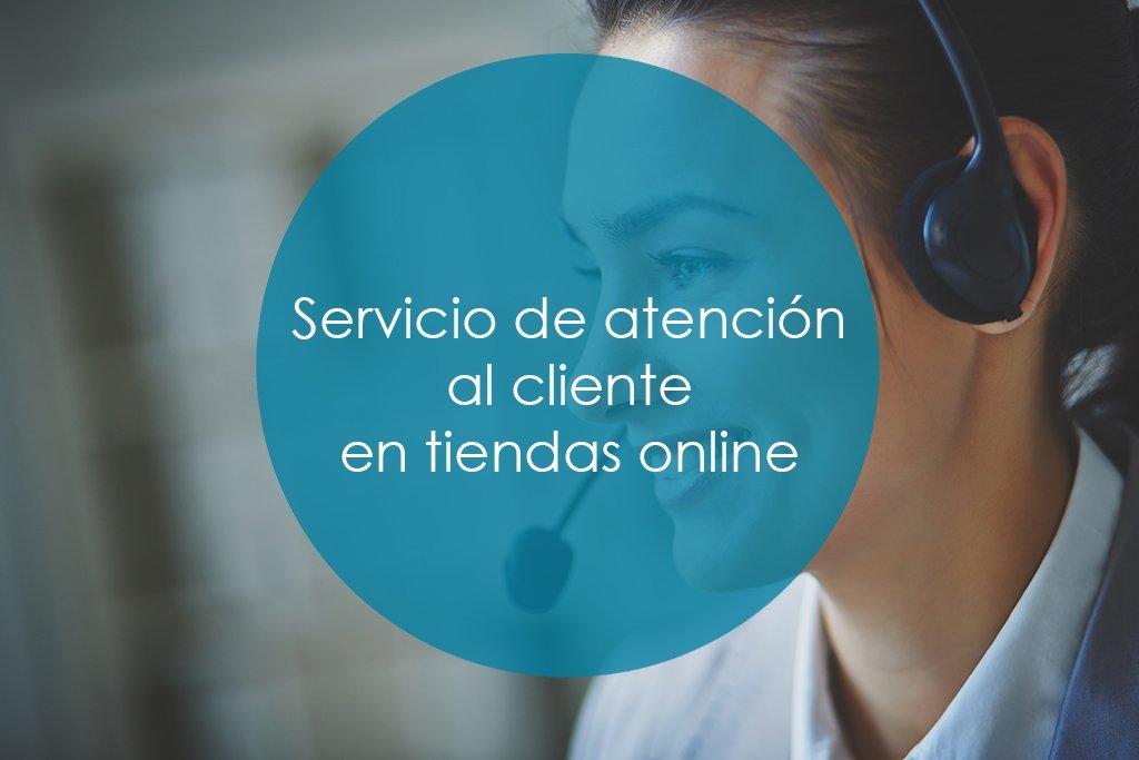 Servicio de atención al cliente en tiendas online portada