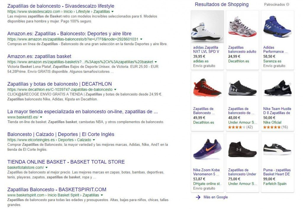 sem google shopping lateral