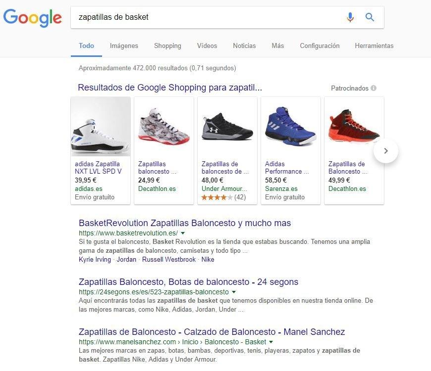 sem google shopping