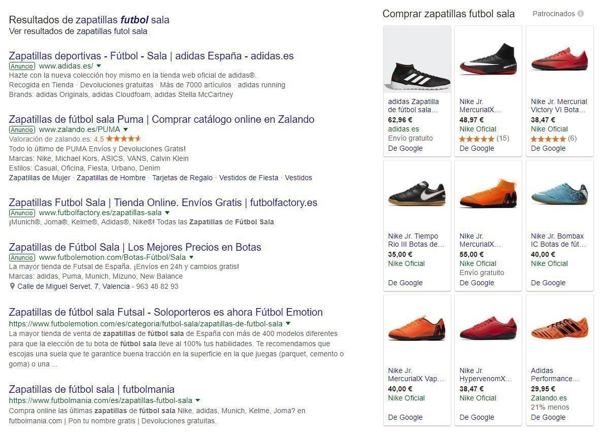 ejemplo shopping
