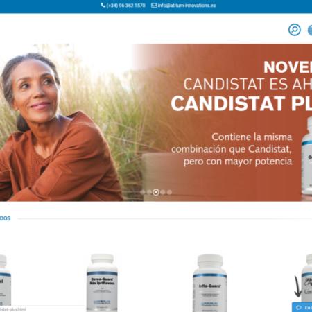 Tienda online en Magento de Douglas Laboratories