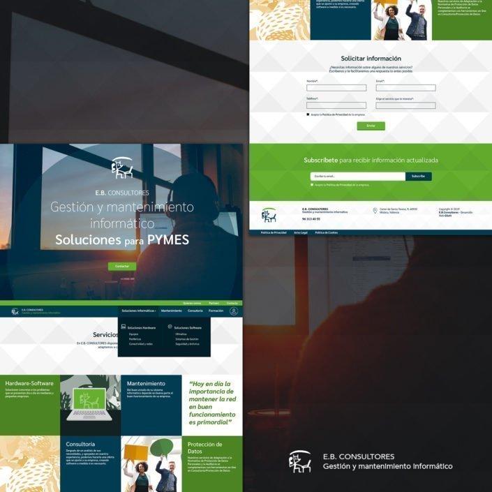 diseño web consultoría Valencia