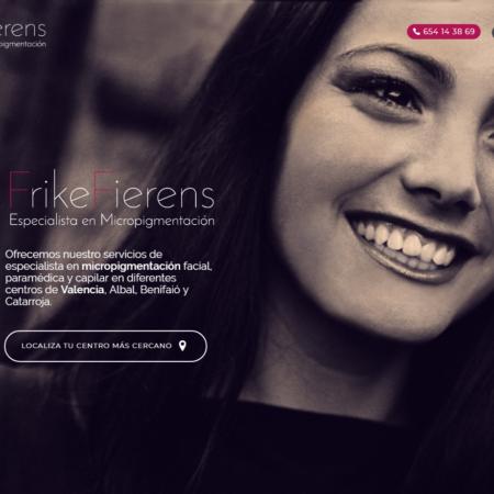 Web corporativa Frike Fierens