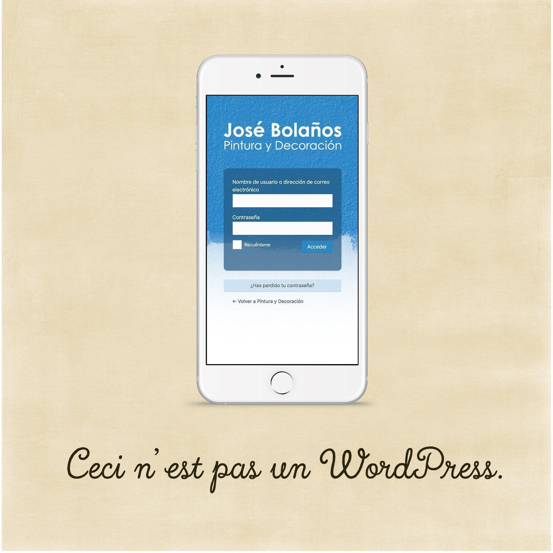 Customizar acceso a WordPress