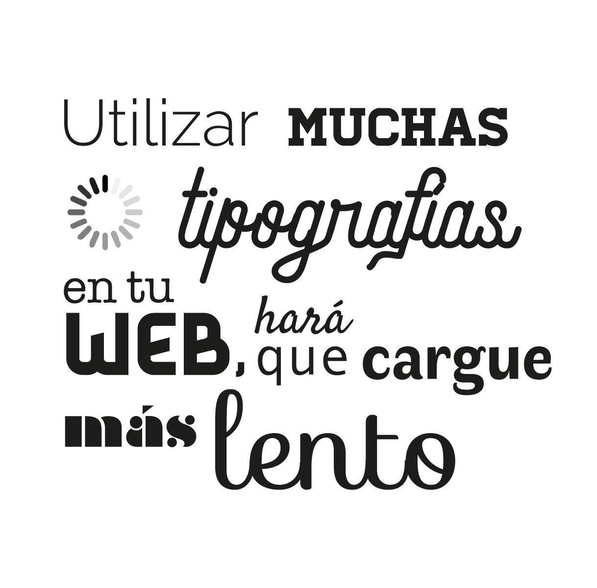 tipografías web