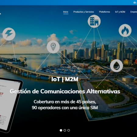 Web corporativa en WordPress GCA