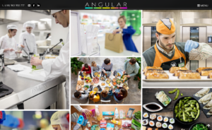 Web corporativa Angular Fotografía