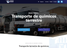 Web en WordPress de Enebro Trans