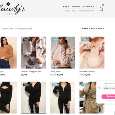 Tienda online Claudy's Shop