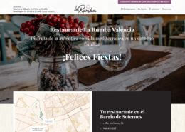 web corporativa en WordPress La Rumba