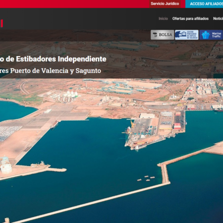 Web corporativa del Sindicato de Estibadores Independiente
